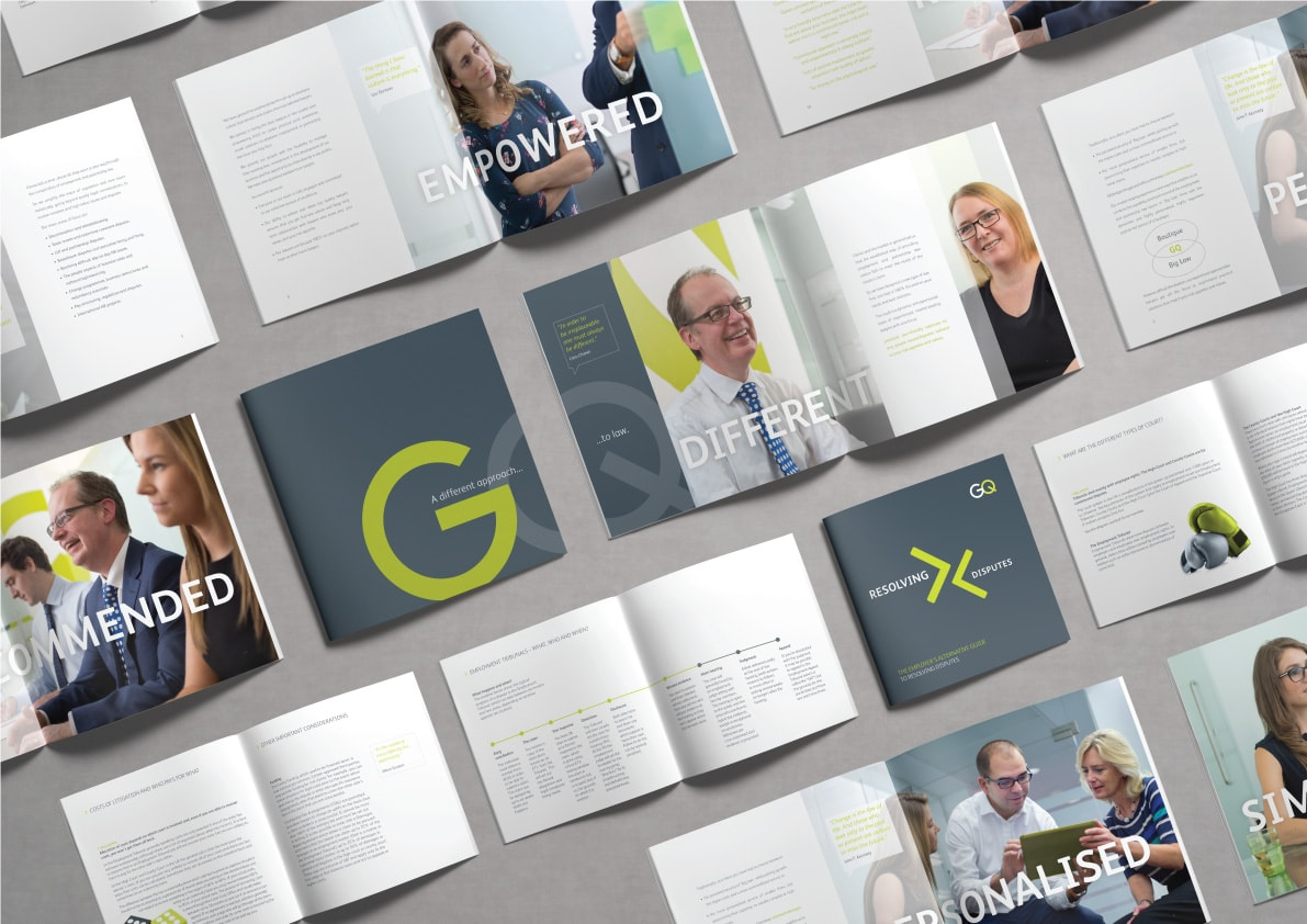 We Have Been Designing A New Company Brochure And Additional Literature For  Central London Law Firm GQ Law. Bridging The Gap Between A Small Boutique  Law ...