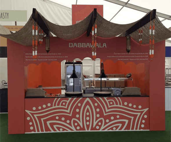 Ascot Dabbawala stand
