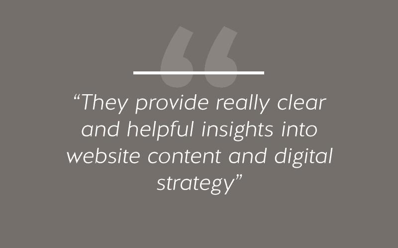 Website Design Content & Digital Strategy
